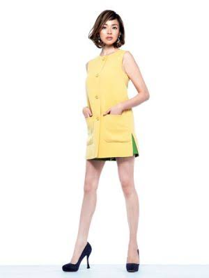 黄色い服のSHIHO