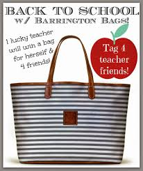 friday favorites sheaffer told me to we re giving away 5 barrington bags in all enter the rafflecopter below and pay attention to the last entry option that s the new one we added today