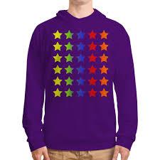 Толстовка с полной запечаткой <b>Яркие звезды</b> #1535136 от ...
