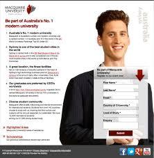 26 beautiful landing page designs a b testing tips 2 macquarie university