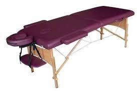 Купить <b>Массажный стол DFC</b> Nirvana Relax, сливовый по низкой ...