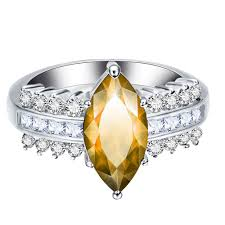 Leaves Artificial Diamond Zircon Ring Sale, Price & Reviews ...