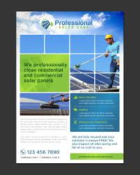 flyer design for professional solar care by pivotaldesign biz flyer design by pivotaldesign biz for solar panel cleaning flyer design design