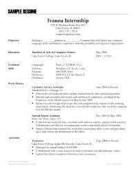 customer service sample resume skills resume for customer service customer service sample resume skills sample internship resume badak sample resume language skills