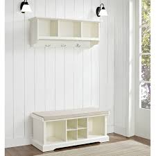 hallway storage bench for small amazing entryway furniture hall tree image
