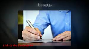 essay report writing video dailymotion