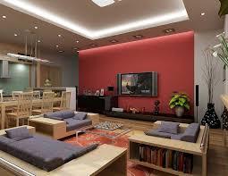 room modern living red
