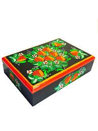 <b>Шкатулка Taowa</b> расписная, черный — купить в интернет ...