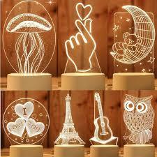DIY <b>Luminous</b> 3D 5cm 20cm 30cm <b>Moon</b> Earth Wall Stickers Kids ...