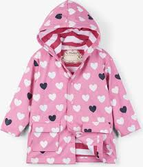 <b>Плащ для девочки Hatley</b>, цвет: розовый. S19CHK1336. Размер ...