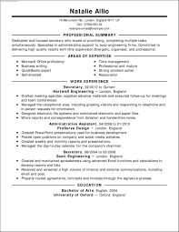 resume templates live career template resume templates live career