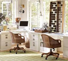furniture the organized of modular white desk components from potterybarn features the long desktop fits atop captivating modern home office design ideas