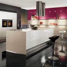 kitchen design trends wtih black  modern kitchen large size black shiny ceramic flooring tile also stoo
