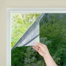 <b>One Way Mirror</b> Window Film Daytime Privacy Static Non Adhesive ...