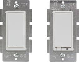 ge z wave wireless lighting control three way onoff kit wall light switches amazoncom ge wave wireless lighting control
