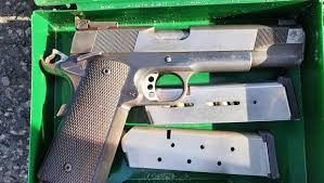 <b>Father and son</b> arrested after heavily armed gardaí seize firearm in ...