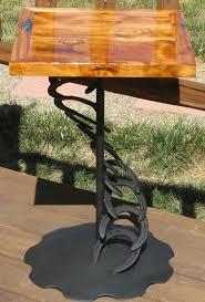 horseshoe art wine rack country decor western