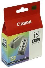 Набор <b>картриджей Canon BCI</b>-<b>15BK</b> Twin Pack (8190A002 ...