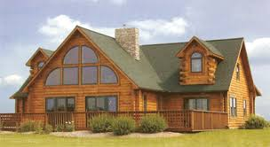 oak log cabins: the seven gables one of gastineaus most popular styles