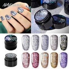 NAILWIND 5мл <b>Ослепительный</b> бриллиантовый гель польский ...