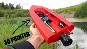 3D Printed RC Boat with JET PROPULSION - YouTube