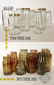 bedroom vintage ideas diy kitchen:  colour tinted jars and bottles