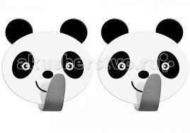 <b>Крючок самоклеящийся</b> нержавеющая сталь <b>Panda</b> 2 шт. <b>Tatkraft</b> ...