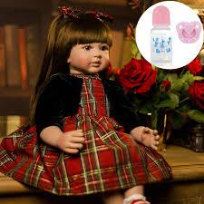 "<b>NPK</b> 24""/<b>60 cm</b> Bebe Alive <b>Silicone Reborn Baby</b> Toddler Princess ..."