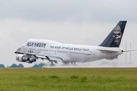 Where Is The <b>Iron Maiden</b> Boeing 747 Now? - Simple Flying
