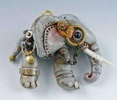 Слон. Christi Friesen. <b>Подвеска</b> из пластики. | Ювелирные ...
