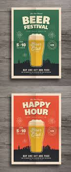 ideas about flyer template flyer design happy hour beer festival flyer template ai psd more