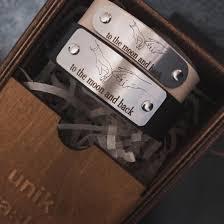 <b>Парные браслеты</b> с гравировкой для влюбленных. – купить в ...