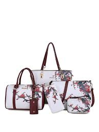 Buy 6Pcs <b>Women's Shoulder Bag</b> Set <b>Stylish</b> Sweet Ladylike ...