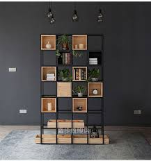 Restaurant floor lattice <b>shelf</b> living room partition <b>shelves bookshelf</b> ...
