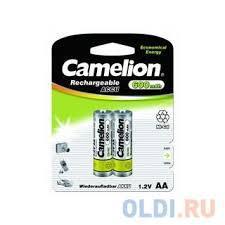 <b>Camelion AA</b>- 600mAh Ni-Cd BL-2 (NC-AA600BP2, <b>аккумулятор</b> ...