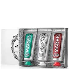 <b>Marvis Travel Flavour Toothpaste</b> Trio 3 x 25ml | Free Shipping ...
