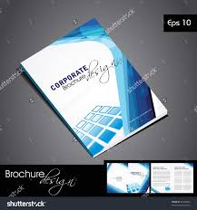 professional business catalog template corporate brochure stock professional business catalog template or corporate brochure design for document publishing print and presentation