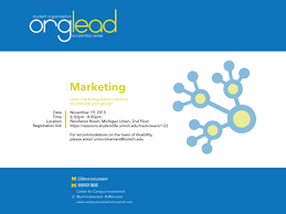 marketing your organization campus involvement marketing flyer