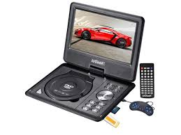 kitchen lcd tv dvd combo portable ikkegol quot lcd portable dvd player remote car charger divx usb sd ga