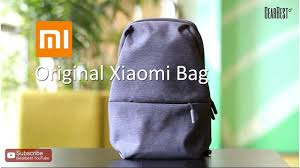 Original <b>Xiaomi Sling Bag</b> - Gearbest.com - YouTube