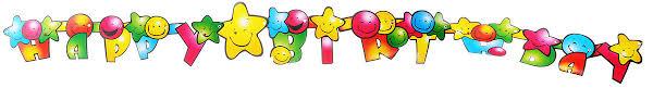 <b>Action</b>! <b>Гирлянда</b>-буквы С Днем Рождения! Смайлик — купить в ...