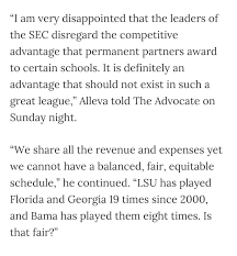 lsu ducked florida and is unwilling to reschedule game in all that quote from two years ago merely sets the stage for this little saga here s the story of what happened per four different sources note for