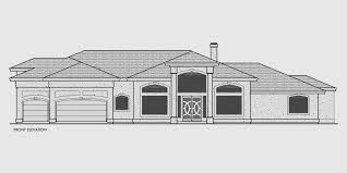 Luxury Mediterranean House Plans  Tile Roofs and Arched Windows wd Luxury house plans  Mediterranean house plans  one level house plans  luxury master