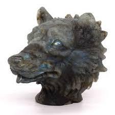 "2.5"" Blood Stone <b>Unicorn Head Figurine</b> Natural Gemstone Healing ..."