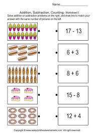 Worksheets, Grade 1 worksheets and Math on PinterestGrade 1 Worksheet Clipart Math Kid - maths addition and subtraction Bontte Worksheet