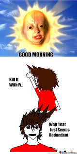 RMX] Good Morning Beautiful by xshadowxwolfx - Meme Center via Relatably.com