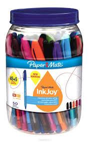 <b>Paper</b> Mate <b>Набор шариковых ручек</b> Inkjoy 100 50 шт — купить в ...