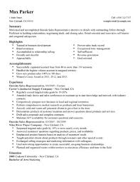 best outside s representative resume example livecareer create my resume
