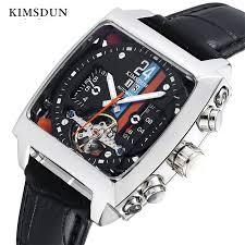 <b>KIMSDUN Top Brand</b> Men Mechanical Watch Fashion Sports ...
