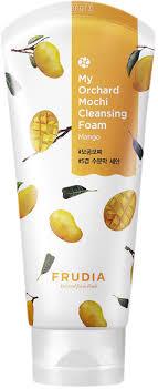 Frudia~Очищающая <b>пенка</b> с экстрактом манго~<b>My</b> Orchard Mochi ...